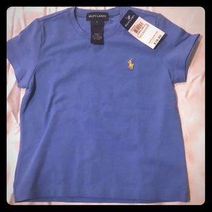 Ralph lLauren girls T-shirt- brand new with tags